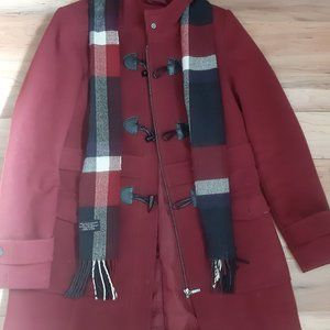 Jessica Women's Winter Coat with scarf and hood